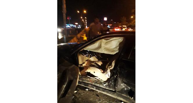 Vanda trafik kazası: 4 yaralı