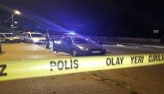 Otomobildeki kavgada silahlar patladı: 1 yaralı