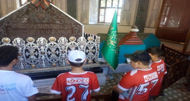 Dezavantajlı çocuklar Osman Gaziyi unutmadı