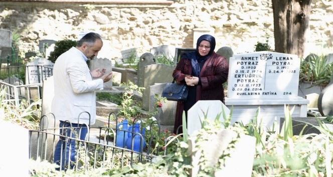 Başkan Aktaş, Pınarbaşı Mezarlığını ziyaret etti