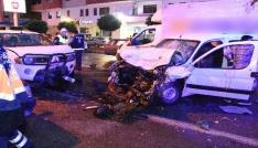 Gümüşhanede iki ayrı trafik kazasında 10 kişi yaralandı