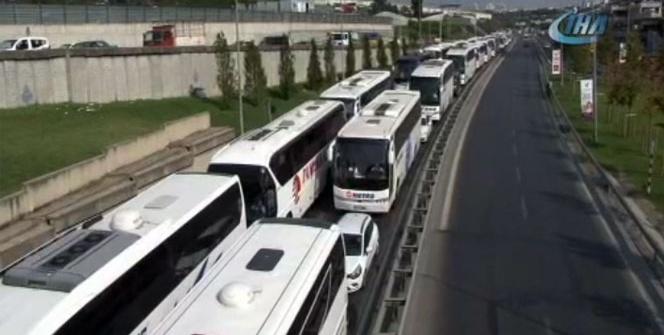 15 Temmuz Demokrasi Otogarı'nda tatil dönüşü yoğunluğu
