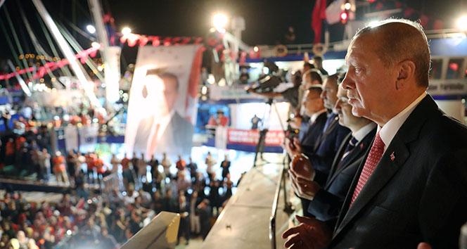 Cumhurbaşkanı Erdoğan Vira Bismillah dedi