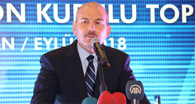 Bakan Soylu: '2018 yılında etkisiz hale getirilen terörist sayısı 342'dir'