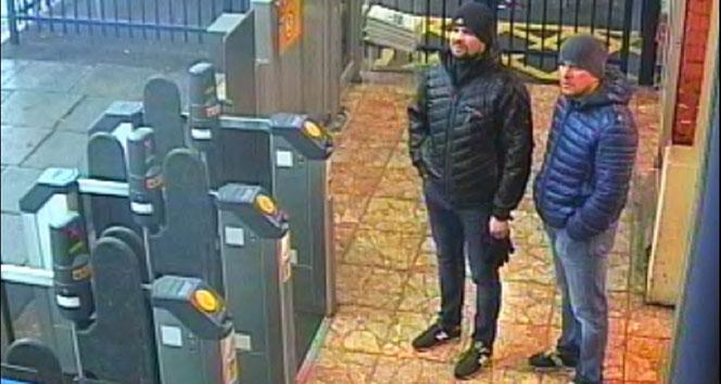 Skripal'i zehirlenmekle suçlanan Ruslardan 'turist' iddiası