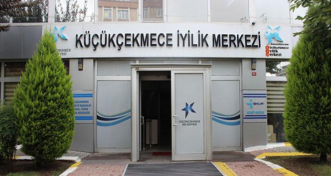 Küçükçekmece Belediyesi İyilik Merkezi, hizmetleriyle vatandaşın yüzünü güldürüyor