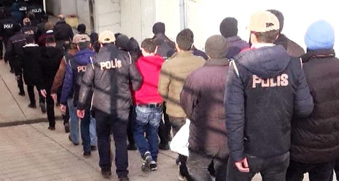 İstanbul'da organize suç örgütüne operasyon: 24 gözaltı