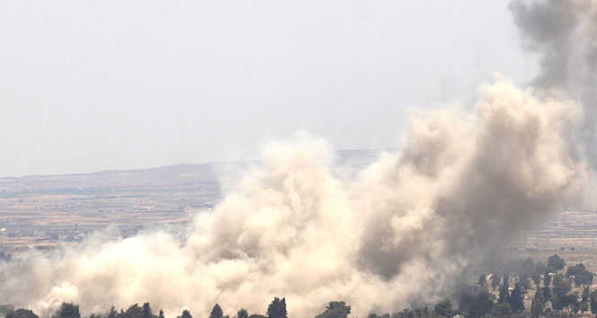 Suriye: İsrail'in hava saldırısını püskürttük