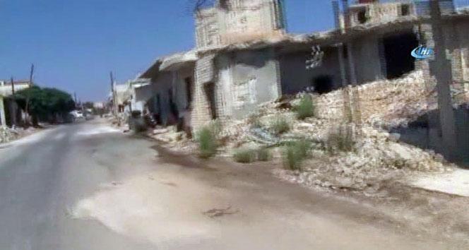 Rusya'nın bombaladığı kasabalar harabeye döndü
