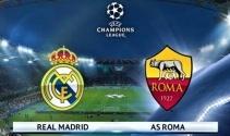 Real Madrid- Roma özet izleme ekranı