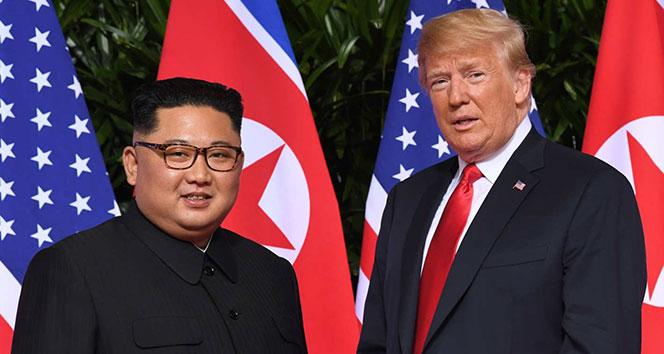 Trump, Kuzey Kore Lideri Kim ile görüşeceğini açıkladı