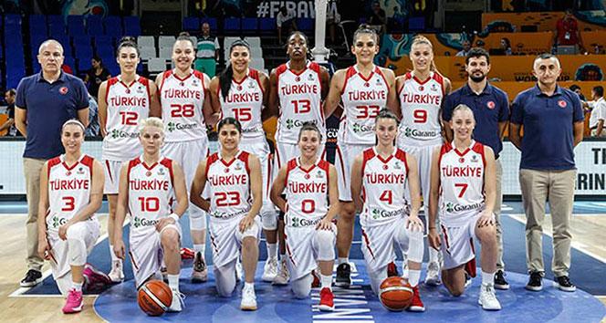 FIBA Dünya Kadınlar Basketbol Şampiyonası: Türkiye: 63 - Arjantin: 37