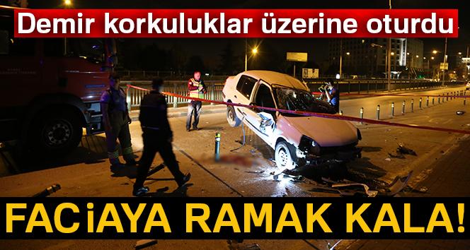 Bursa'da aşırı hız faciaya sebep oluyordu