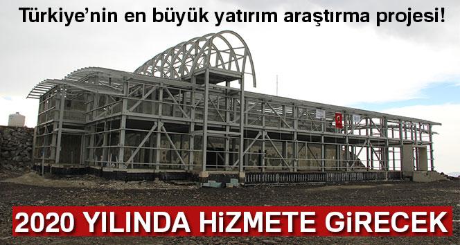 Türkiye'nin en büyük yatırım araştırma projesi 2020 yılında hizmete girecek!