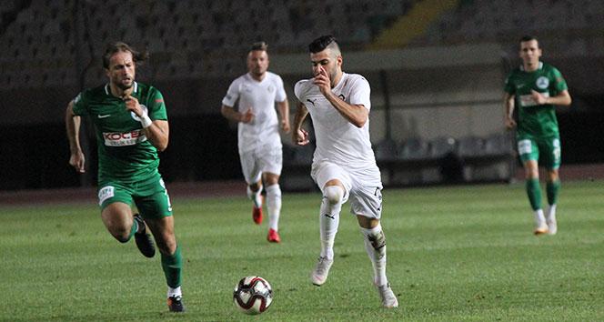 Giresunspor, İzmir'de tek golle kazandı