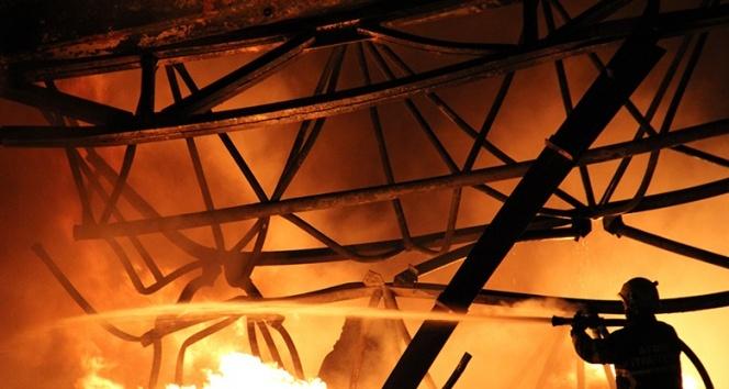 Aydın'daki fabrikada yangın! Kontrol altına alındı
