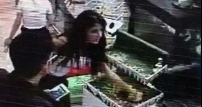 Tavşan hırsızları kameraya yakalandı