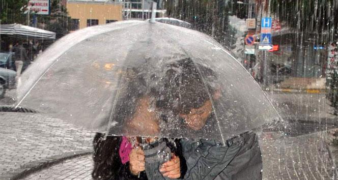 Meteoroloji'den son dakika hava durumu uyarısı! Kuvvetli yağış geliyor! |25 Eylül Salı yurtta hava durumu