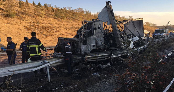 Niğde-Adana karayolunda feci kaza