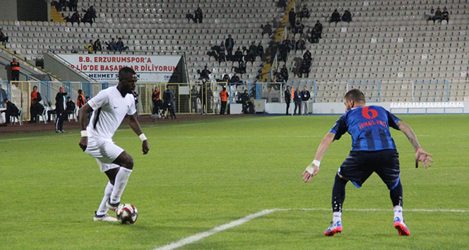 Ziraat Türkiye Kupası 3. Eleme Turu: B.B. Erzurumspor: 1 Ankara Demirspor: 0
