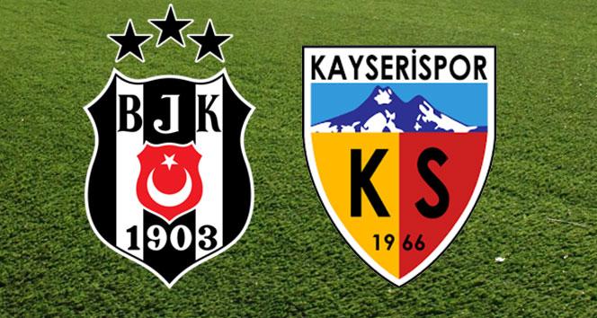 Beşiktaş-Kayserispor maçı Vodafone Park'ta oynanacak