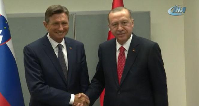 Cumhurbaşkanı Erdoğan kritik görüşmelerde bulundu