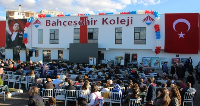 Bahçeşehir Koleji Erzurum Kampüsü törenle açıldı