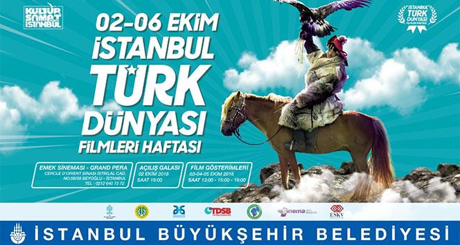 2'nci Uluslararası Türk Dünyası Filmleri Haftası 2 Ekim'de İstanbul'da başlayacak