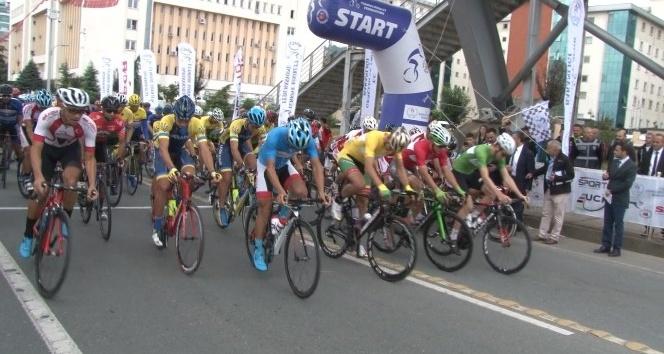 Karadeniz Bisiklet Turu'nun 2. etabı start aldı
