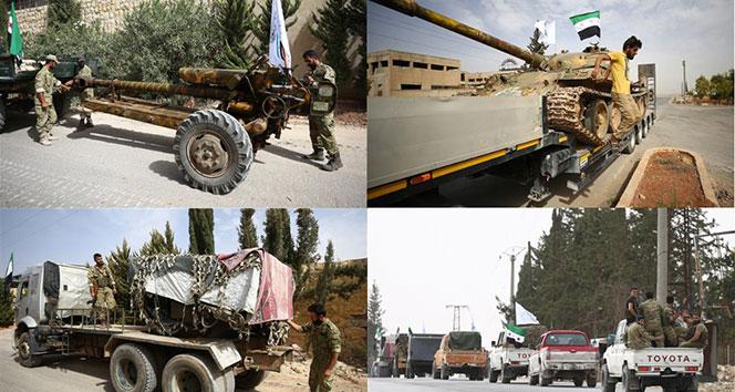 Bakanlık: İdlib'den ağır silahlar çekildi