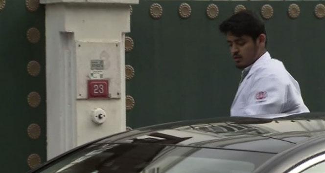 Suudi Arabistan Konsolosluk konutuna esrarengiz ziyaretçi