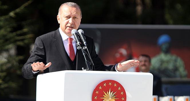 Cumhurbaşkanı Erdoğan: 'Fırat'ın doğusundaki terör yuvalarını da darmadağın edeceğiz'