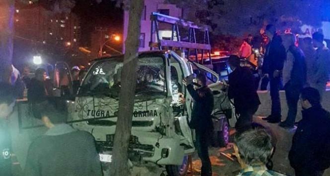Gümüşhane'de trafik kazası: 6 yaralı...