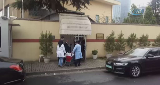 Suudi Arabistan Konsolosluğuna temizlik ekibi geldi