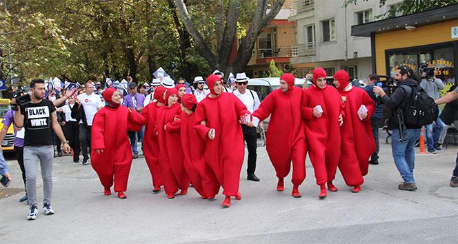 Ankara'da 'Pıhtıya karşı hareket et' sloganıyla etkinlik
