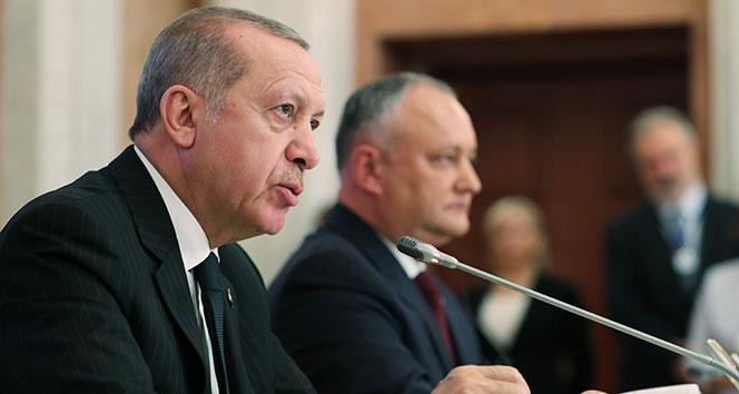 Cumhurbaşkanı Erdoğan: 'İlişkilerimiz stratejik ortaklık seviyesine çıkarılmıştır'