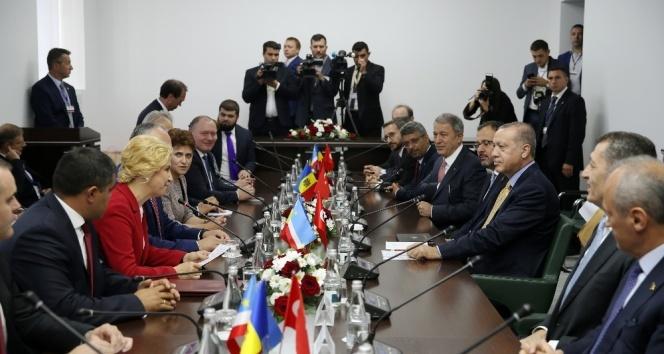 Erdoğan Gagavuzya Başkanı Vlah'la görüştü