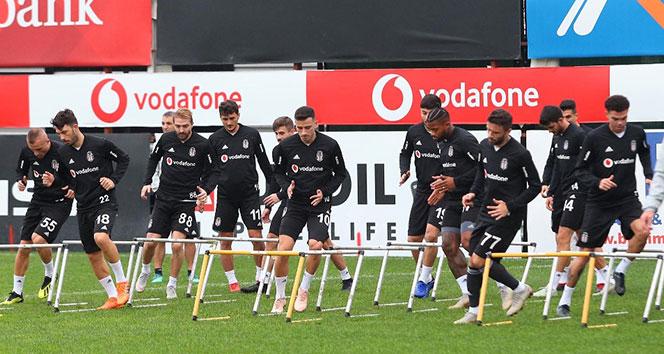 Beşiktaş Göztepe maçı hazırlıklarını sürdürdü