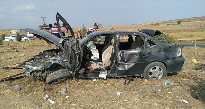 Kahramanmaraş'ta trafik kazası: 1 ölü, 6 yaralı