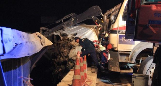 Yavuz Sultan Selim Köprüsü yolunda feci kaza: 2 ölü