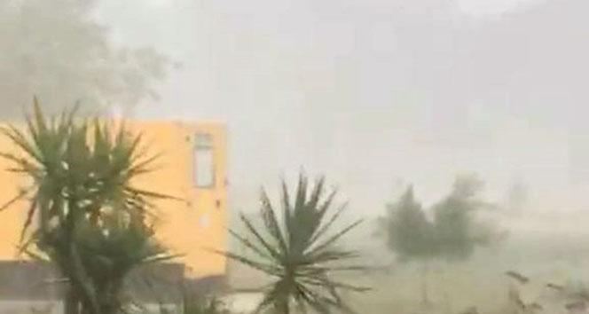 Antalya'da şiddetli yağmur etkili oldu