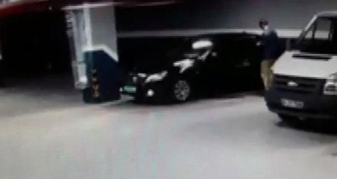 Suudi Arabistan Başkonsolosluğuna ait araç otoparka böyle bırakıldı
