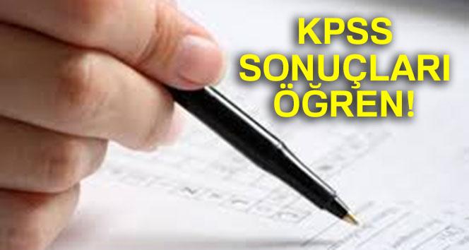 2018 KPSS sonuçları ÖĞREN | KPSS Ortaöğretim sonuçları SORGULA| KPSS SONUÇLARI ÖSYM SONUÇ SAYFASI