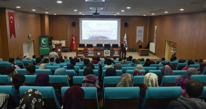 """Şırnak Üniversitesi'nde """"Bağımlılıkla Mücadele Programı"""" düzenlendi"""