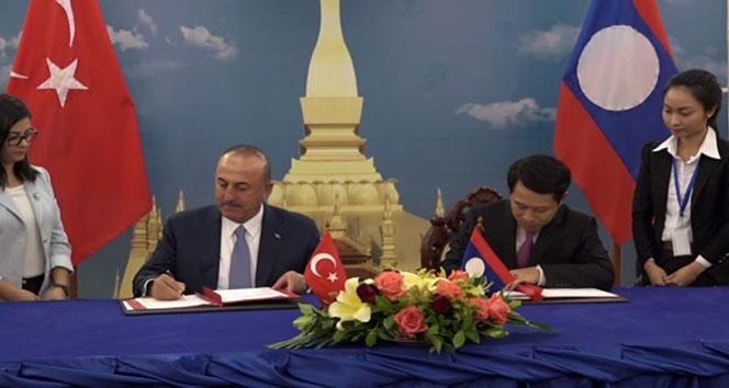 Laos ile 'Diplomatik Vize Anlaşması' imzalandı