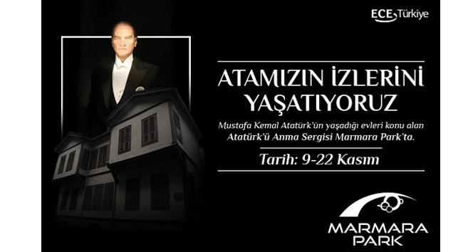 Atatürk'ün yaşadığı evlerin yer aldığı resim sergisi ziyaretçilerini bekliyor