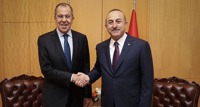 Dışişleri Bakanı Çavuşoğlu, Lavrov ile görüştü!!
