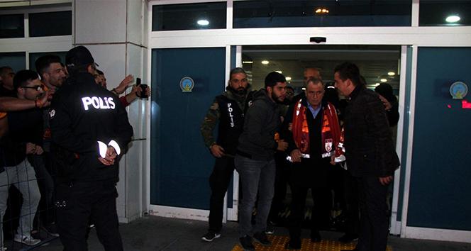 Galatasaray kafilesi Kayseri'de  Spor haberleri