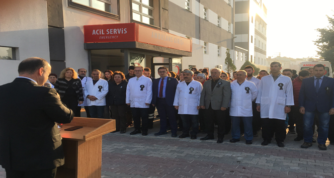 Atatürk, Eskişehir Gürlife Hastanesi'nde de anıldı