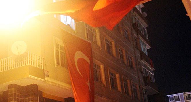 Şehit ateşi İstanbul'a düştü!